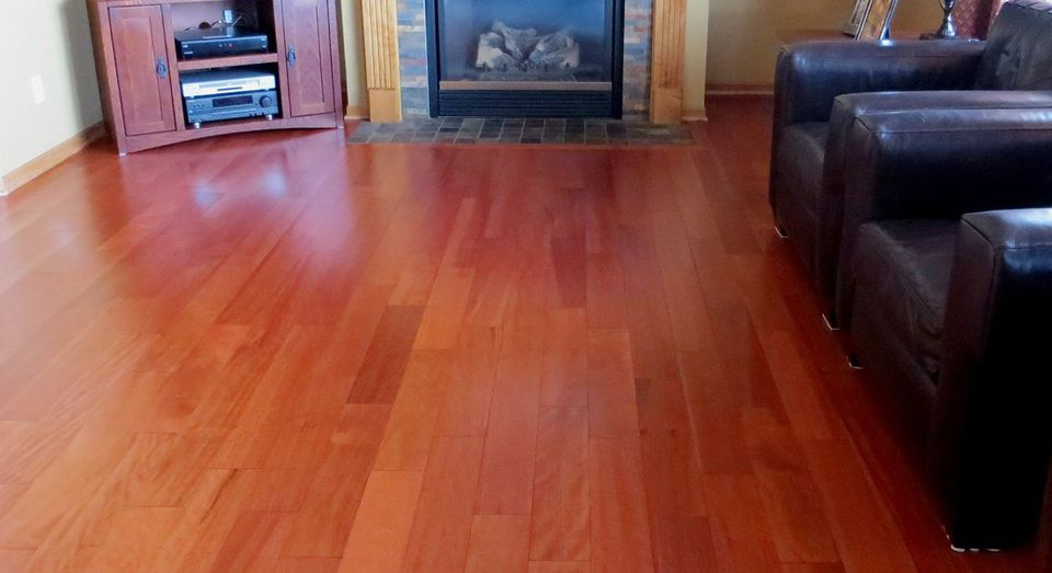Malaccan Cherry or Taun Wood Flooring