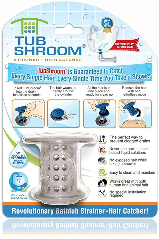 TubShroom Drain Protector Hair Catcher
