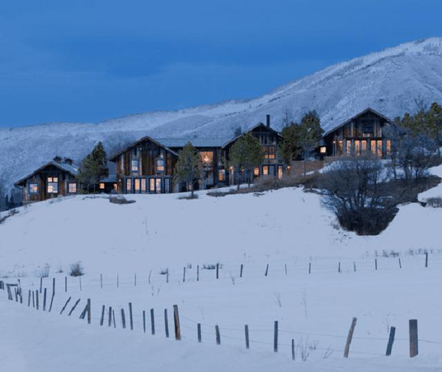 Design Mashup A Modern-Rustic Aspen Mountain Retreat