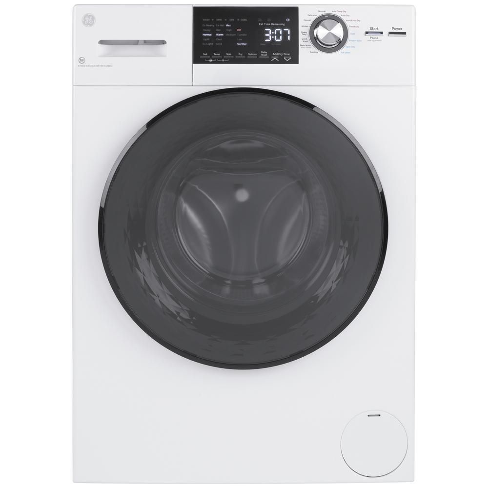 The GE Ventless Electric All-in-One Washer Dryer Combo is a high-efficiency machine that'll pack a big punch despite its small size in your home.