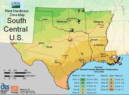 Usda Plant Hardiness Zone Maps By Region - Us-growing-zones-map