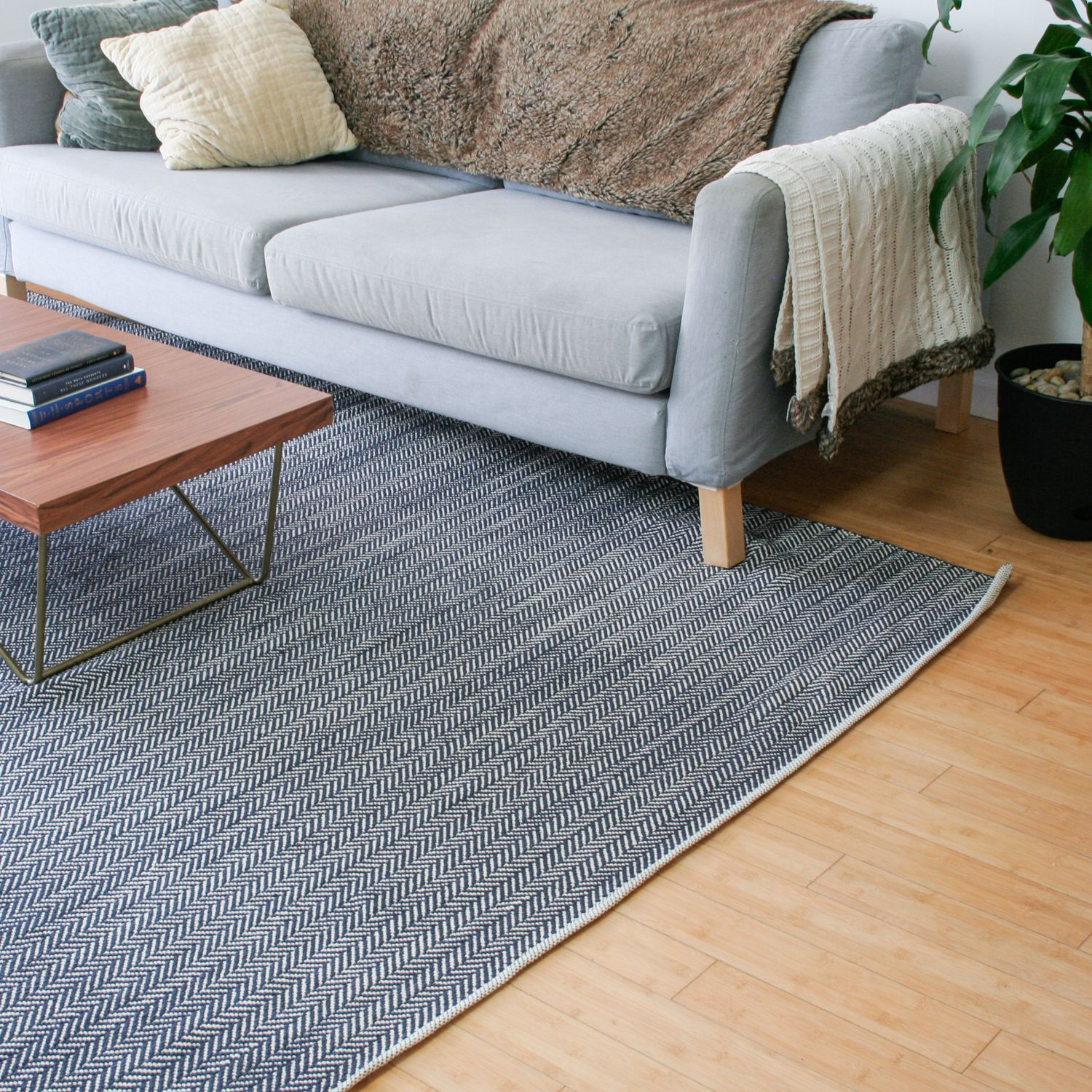 Dash And Albert Herringbone Hand Woven Rug Review Modern And