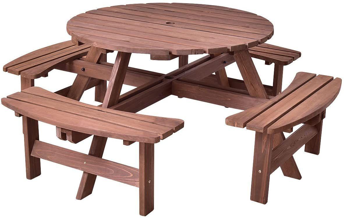 Giantex Wooden Picnic Table