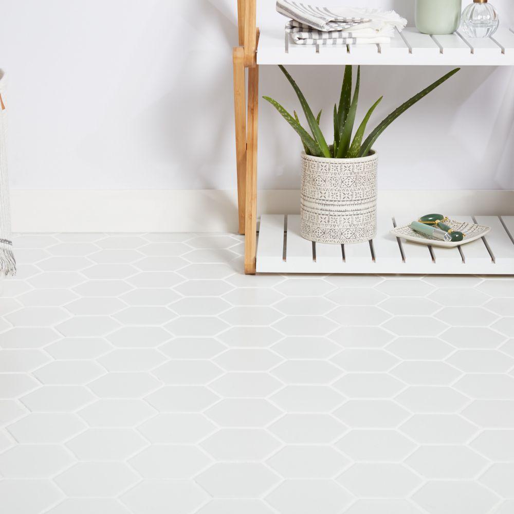 4 Inexpensive Bathroom Flooring Ideas