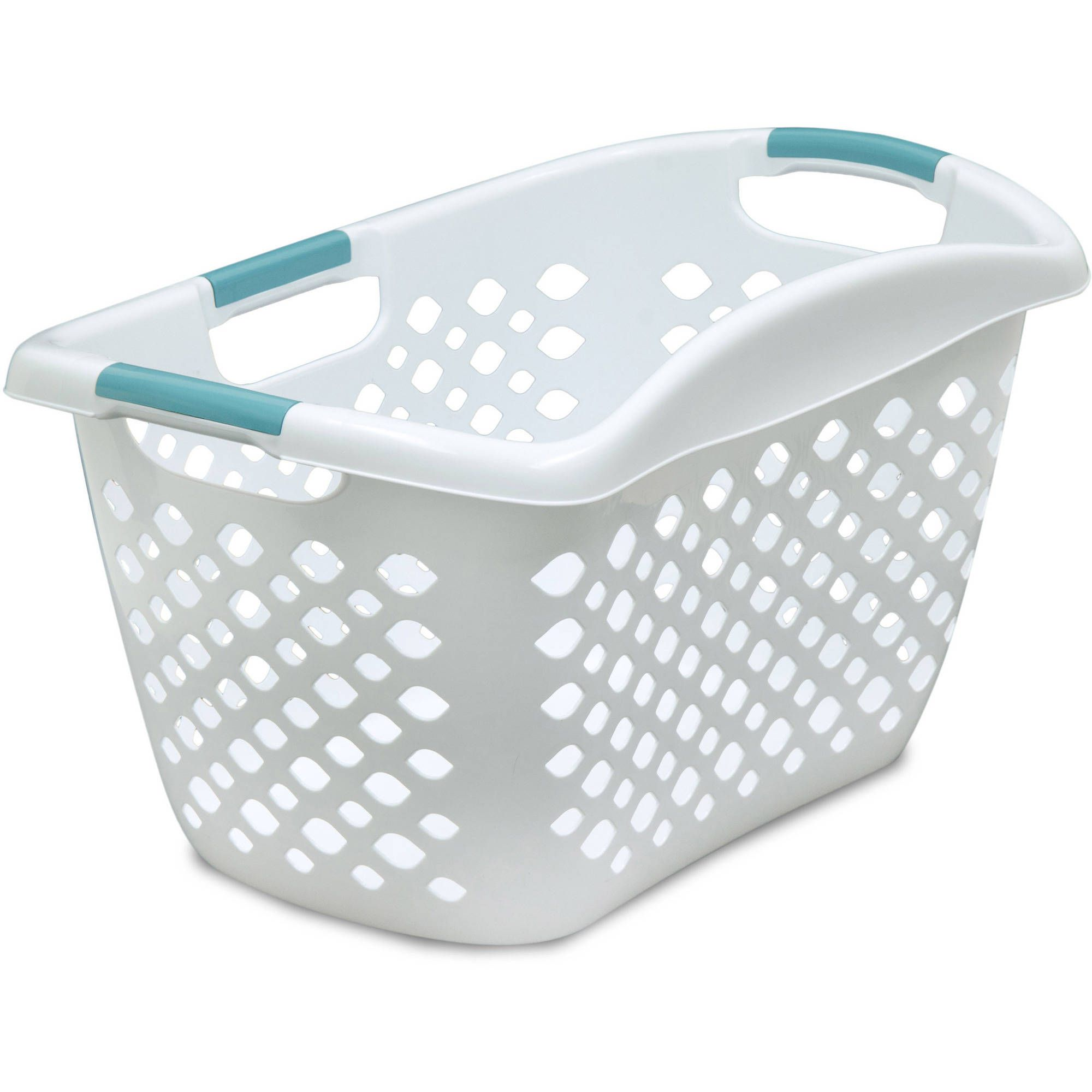 Best Plastic Home Logic 1 8 Bu Large Capacity Hip Grip Laundry Basket