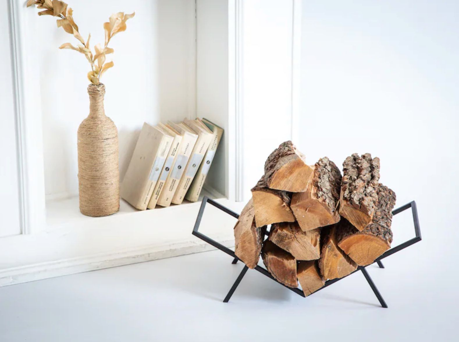 Compact Log Holder