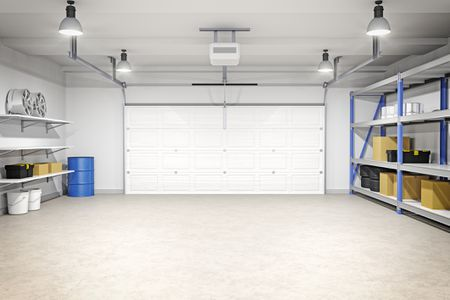 Inside Of A Garage