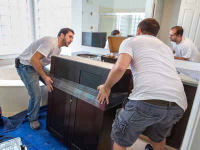 Construction: Bathroom renovation