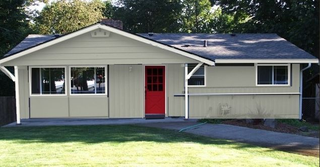 Exterior Paint Color Schemes - Cottage House