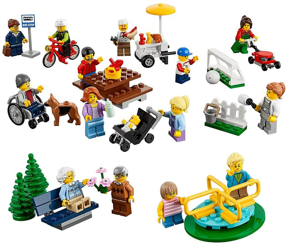 LEGO City Town Fun in the Park - City People Pack