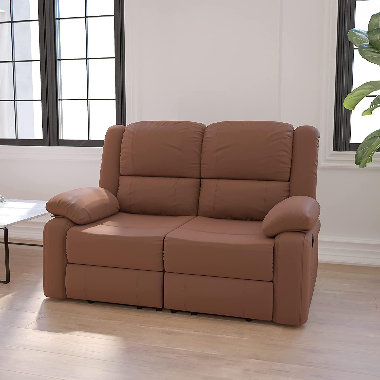 Flash Furniture Harmony Series Reclining Loveseat