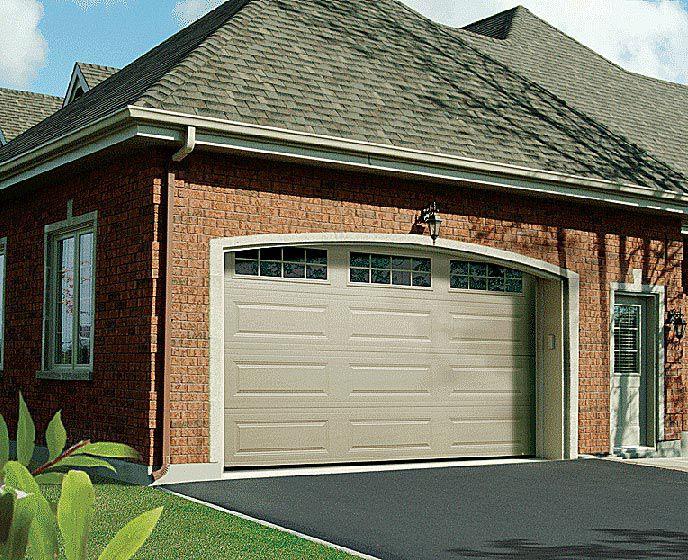 how to open garage door manually from inside