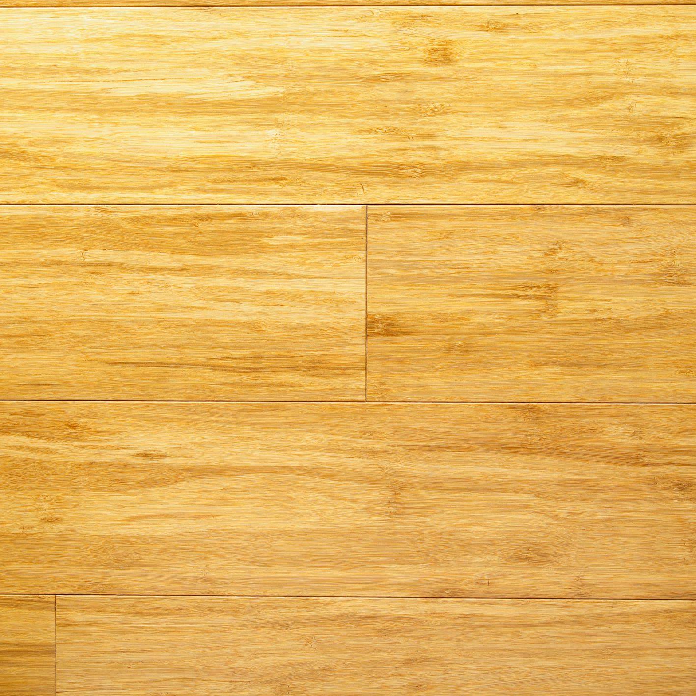 Bamboo Flooring In A Bathroom