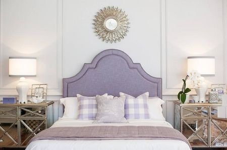 Glamorous Purple Bedroom