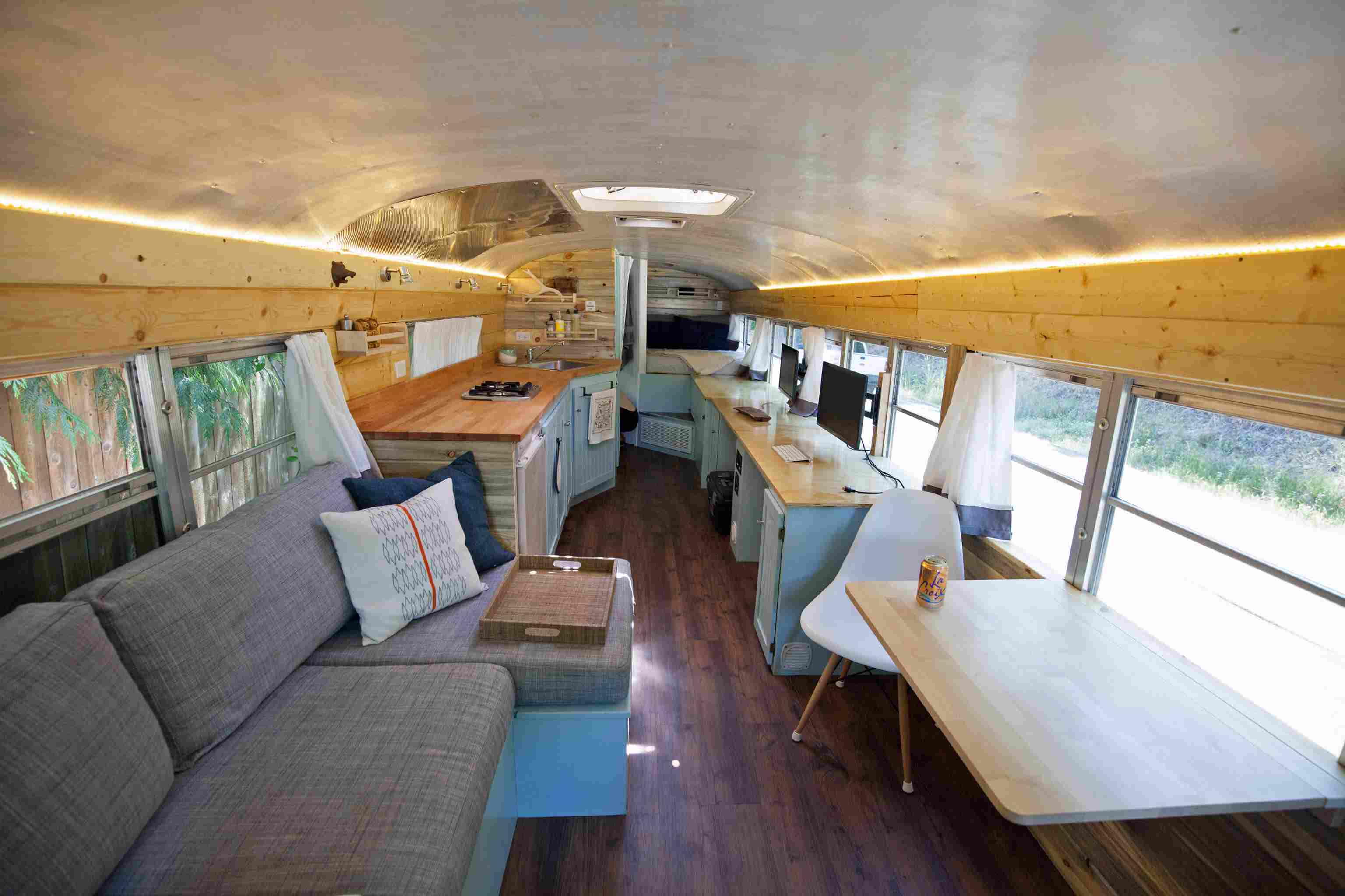 Bus living room