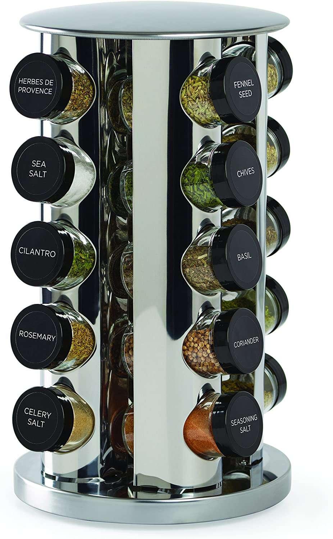 Kamenstein 20-Jar Revolving Spice Tower