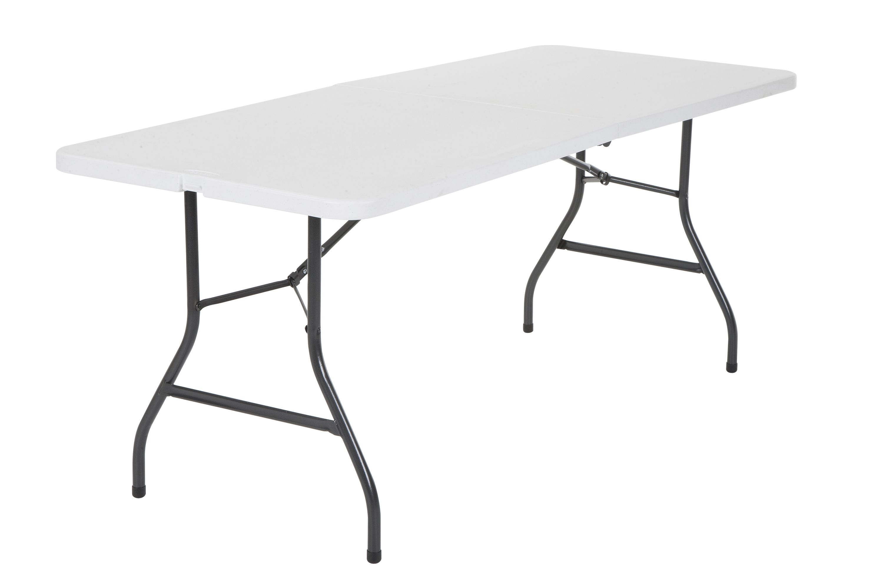 Cosco 6' Centerfold Table, Multiple Colors