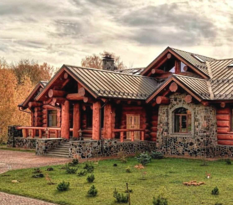 russian log home