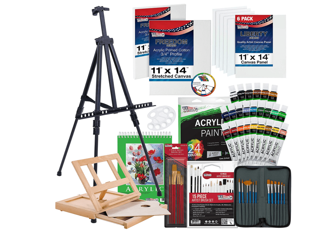 72-Piece Deluxe Acrylic Painting Set