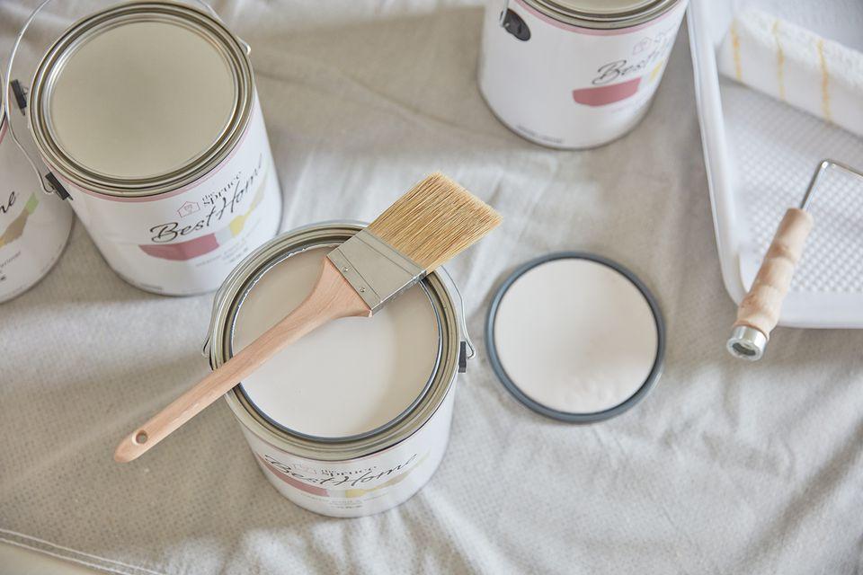Beige paint
