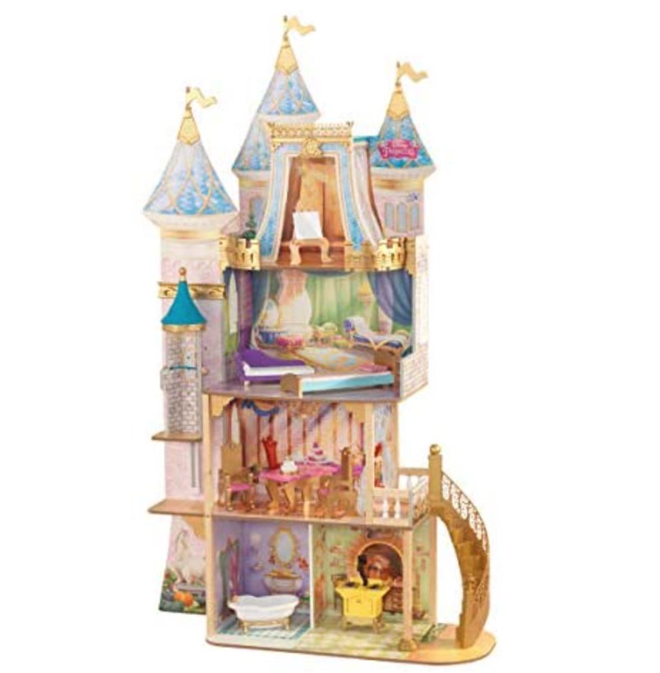 KidKraft KidKraft Disney Princess Royal Celebration Wooden Dollhouse