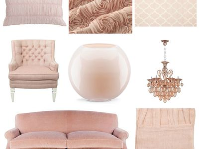 Blush Pink Mood Board