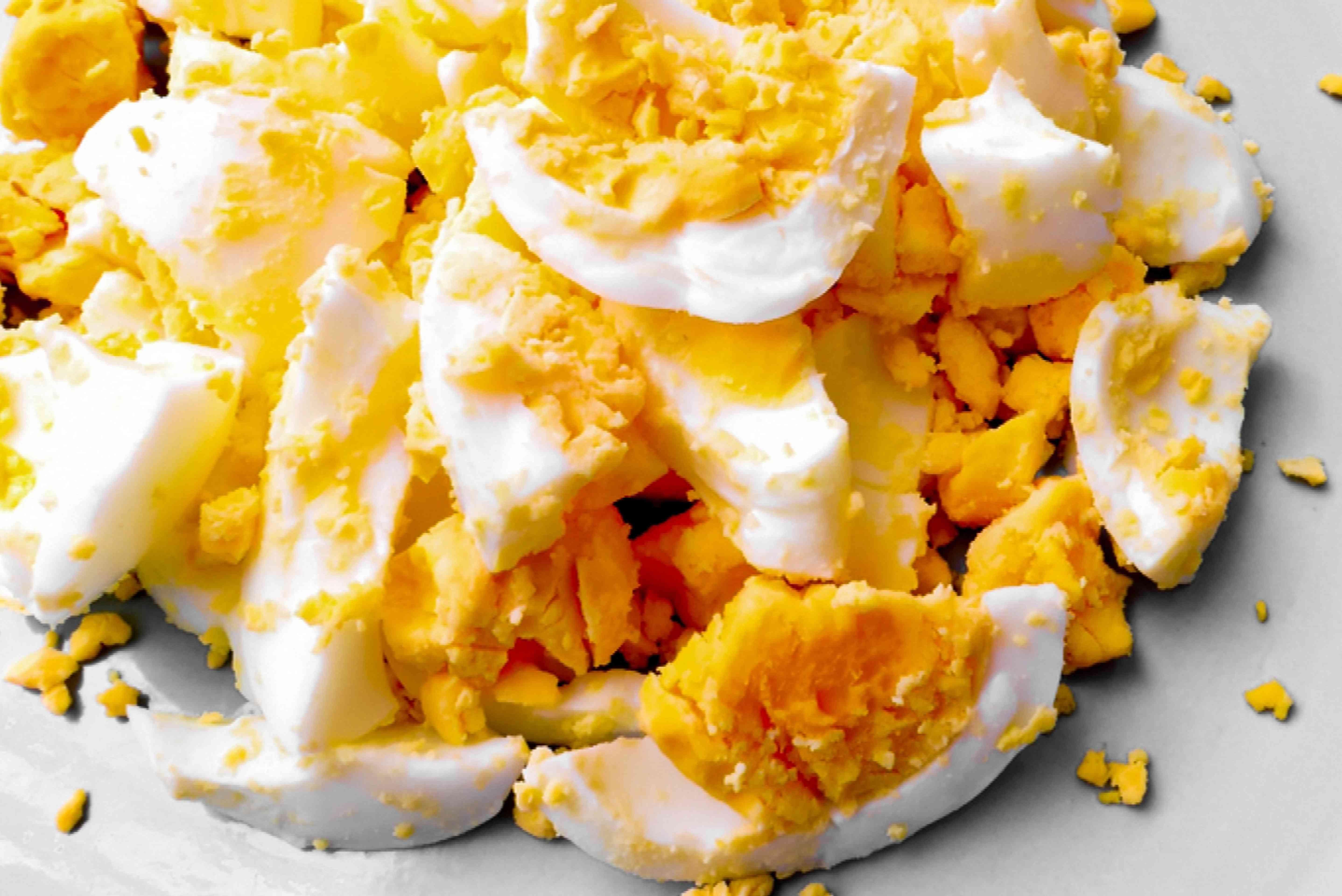 chopped hardboiled egg