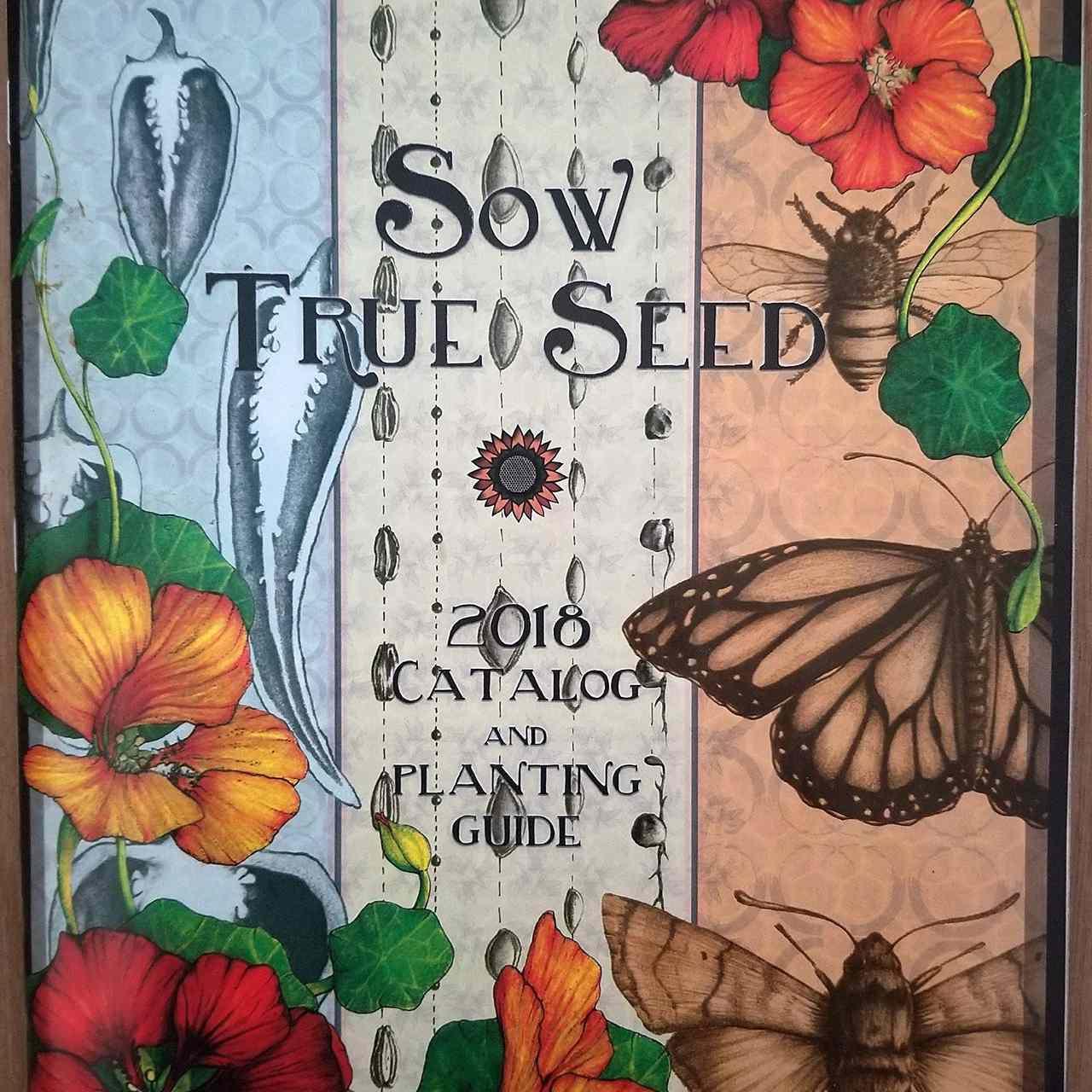 El catálogo y guía de siembra Sow True Seed 2018