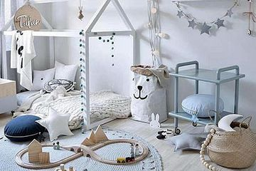 Simple, Nordic kid's room
