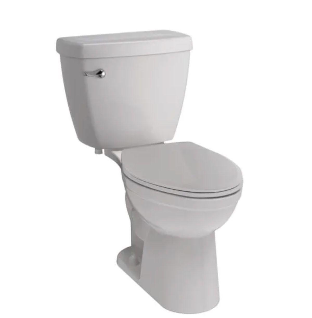 Foundations 2-piece Single Flush Elongated Toilet