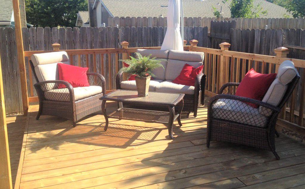 DIY Project Backyard Deck