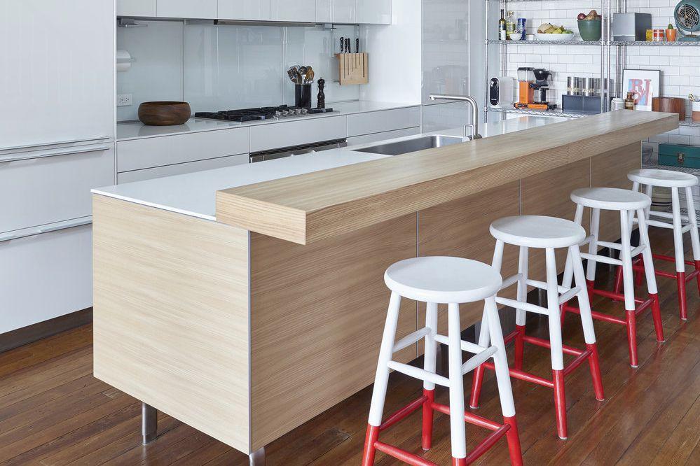 Color dipped bar stools