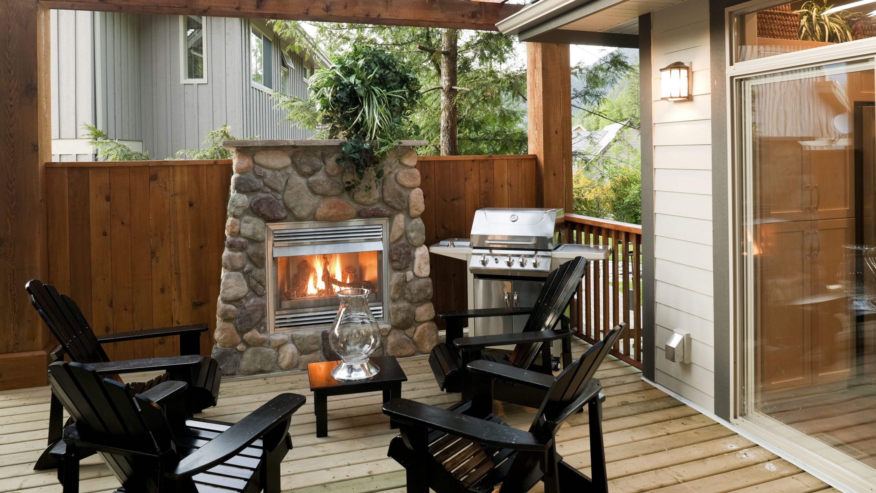 Different Types Of Outdoor Fireplace Kits
