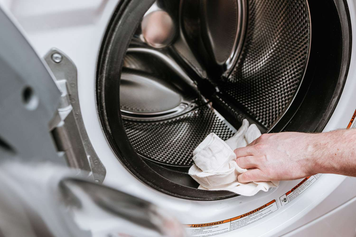 cleaning a front-loading washer