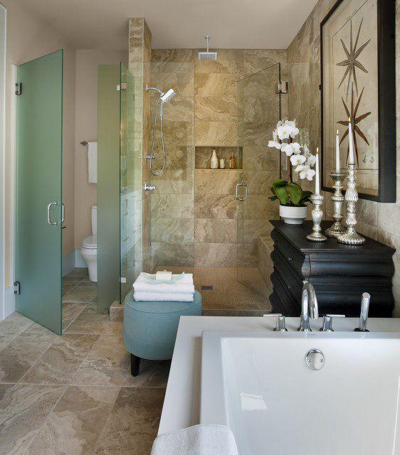 pisos de cerámica de baño