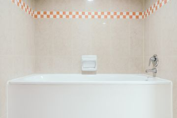 Interior Of Modern Bathroom At Home