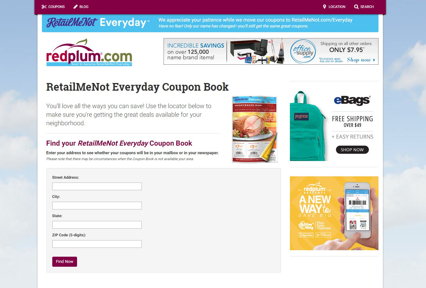 How To Get Free Coupon Books By Mail