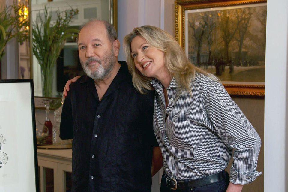 Rubén Blades and Luba Mason on Antiques Roadshow