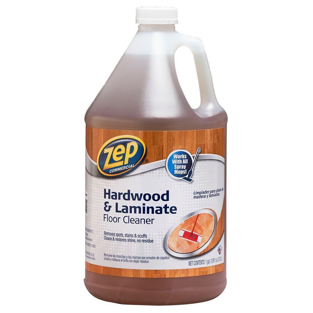 ZEP 128 oz. Hardwood and Laminate Floor Cleaner