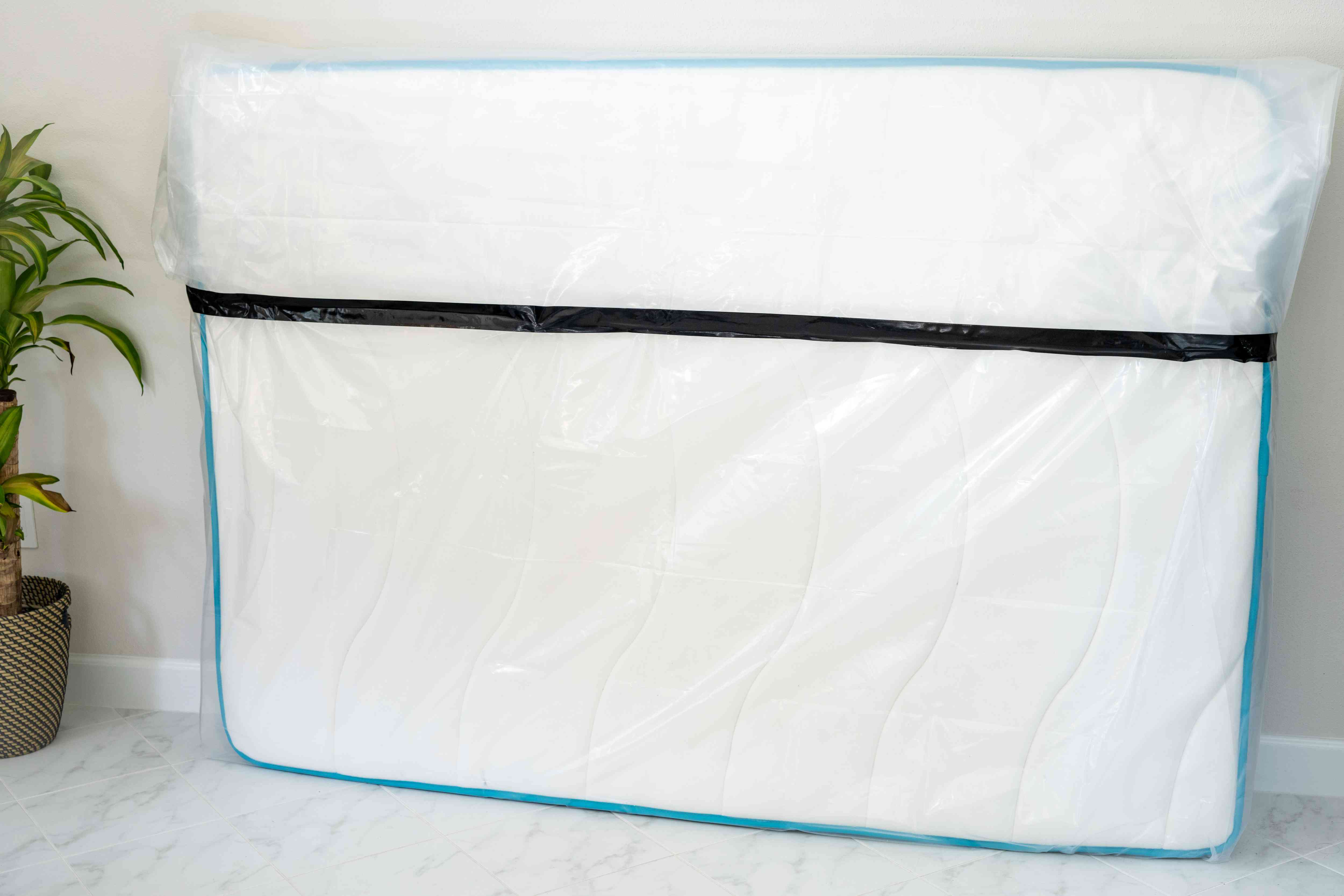 wrapping the mattress in plastic