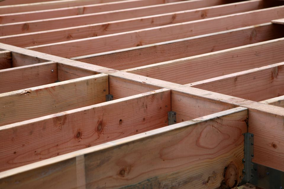 deck girder and joists