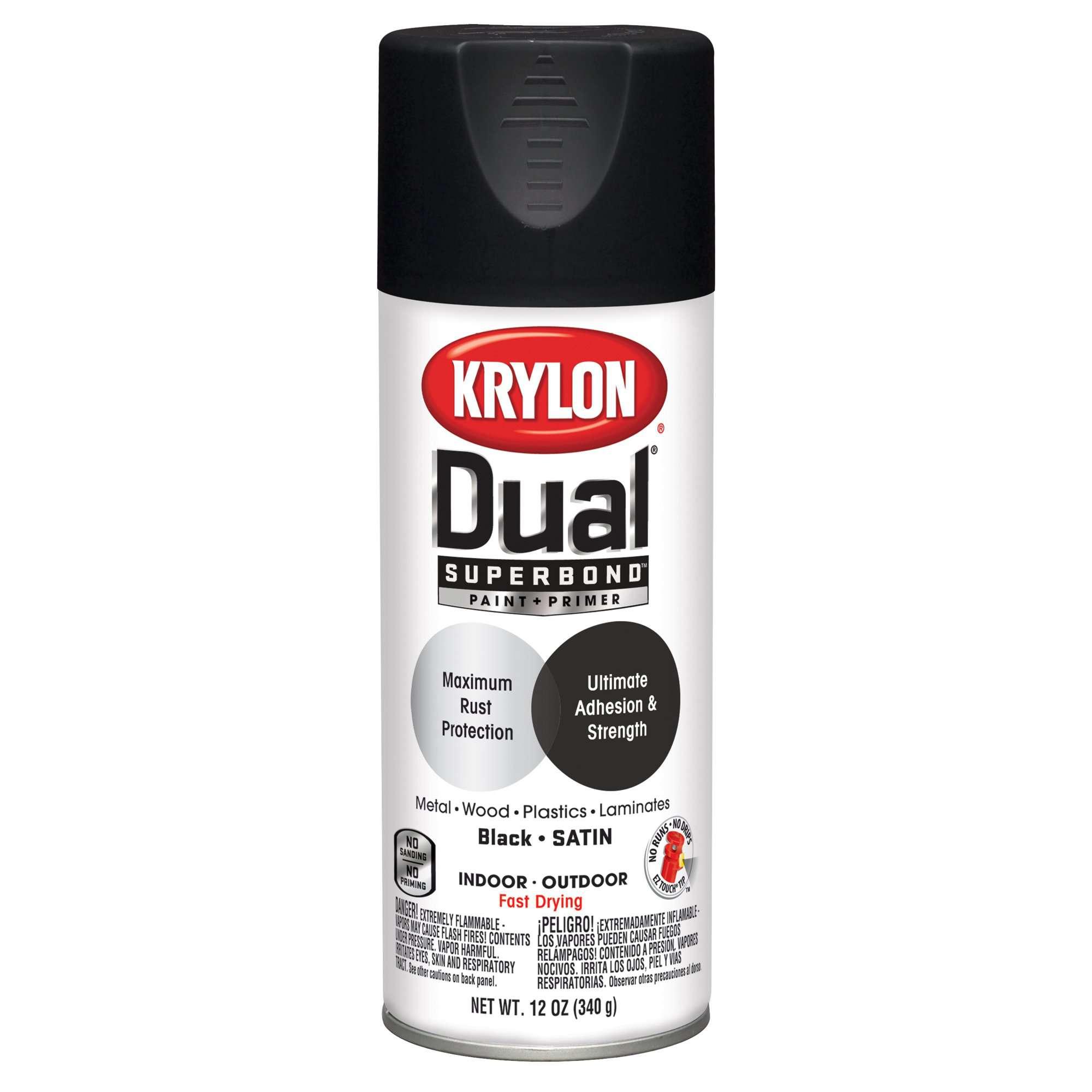 Krylon Dual' Superbond Paint and Primer