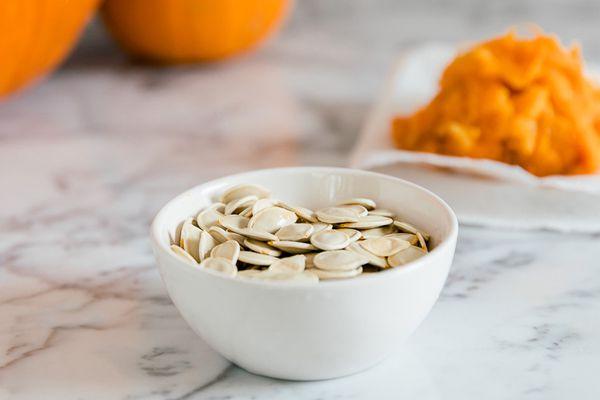 saving pumpkin seeds