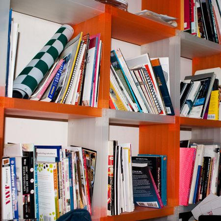 Recommended Shelf Height Spacing A Bookshelf Covered In Books