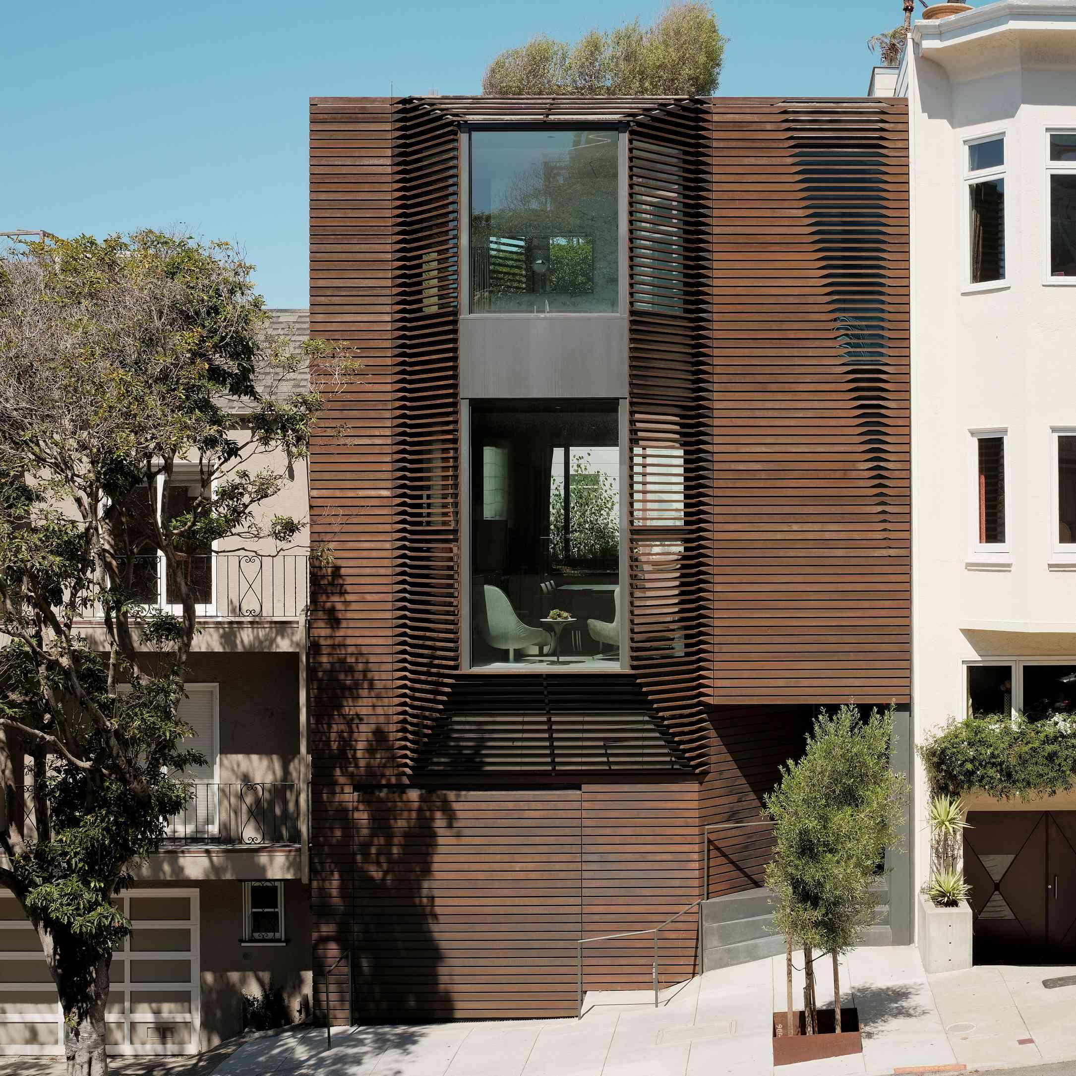 Contemporary row house