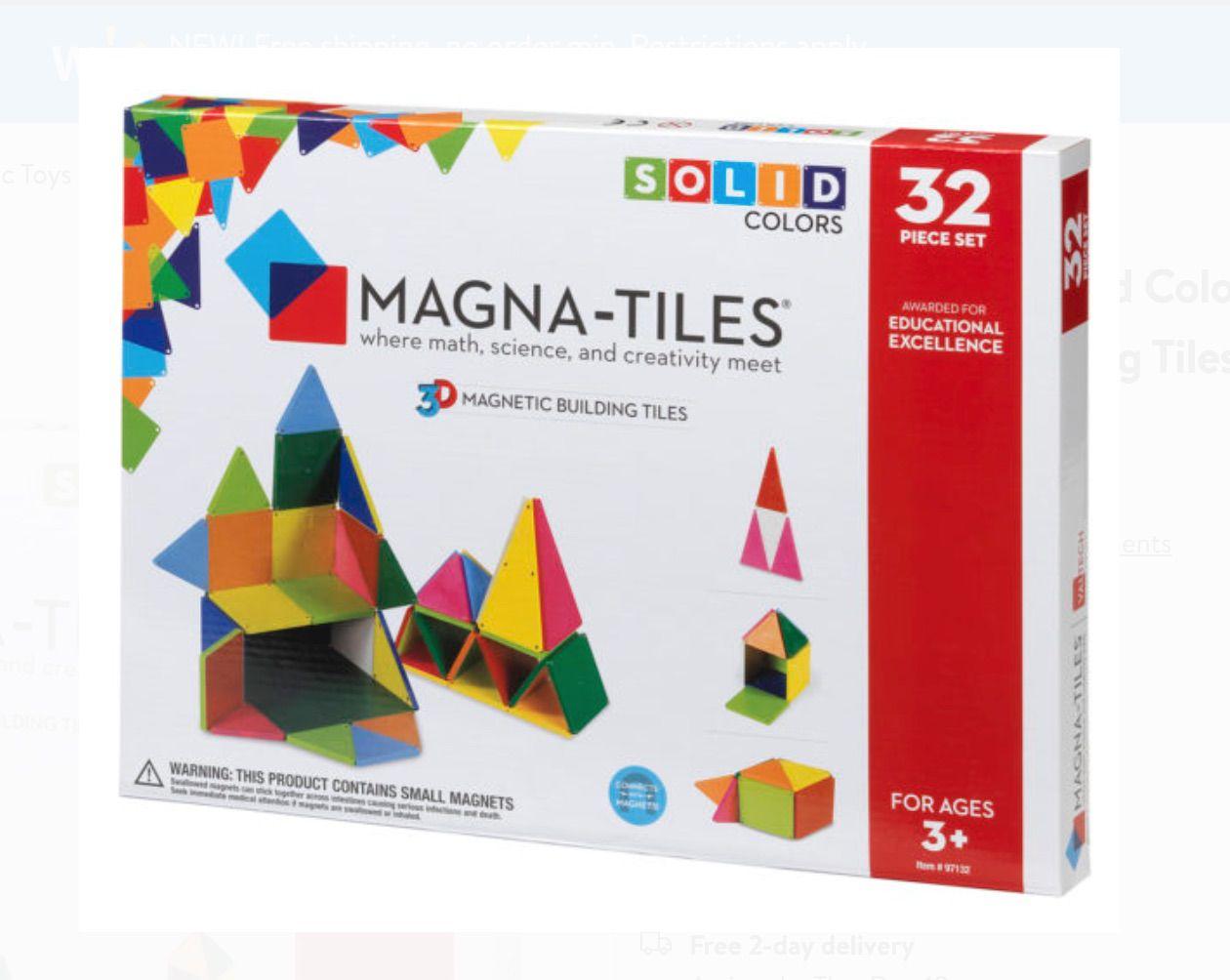 Solid Color Magna-Tiles