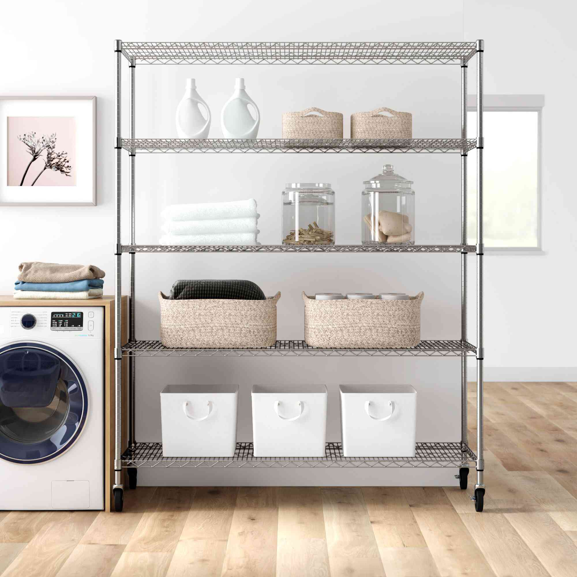 Dotted Line Esther Shelving Unit