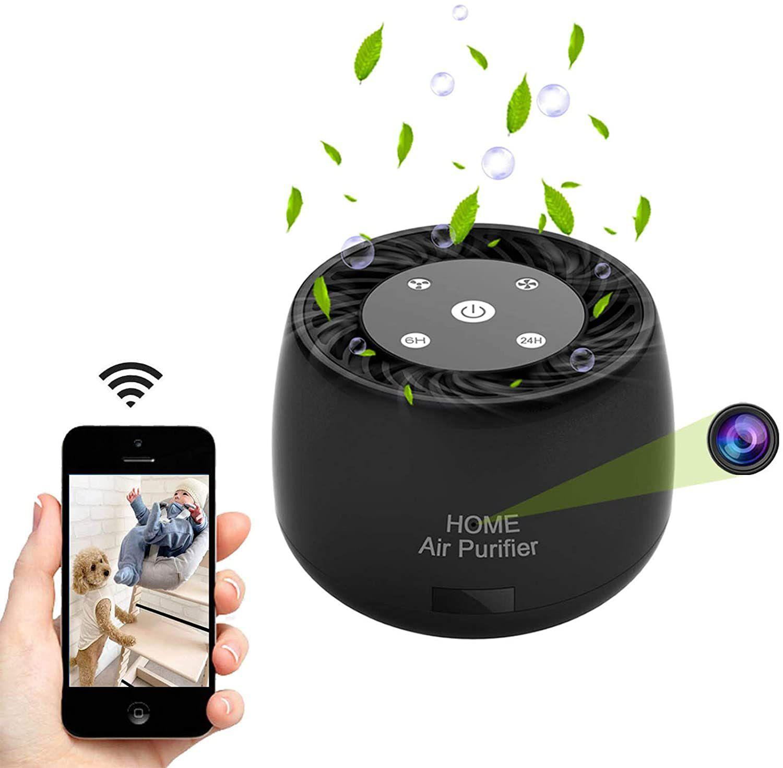 Quniao Wireless Hidden Spy Camera Air Purifier