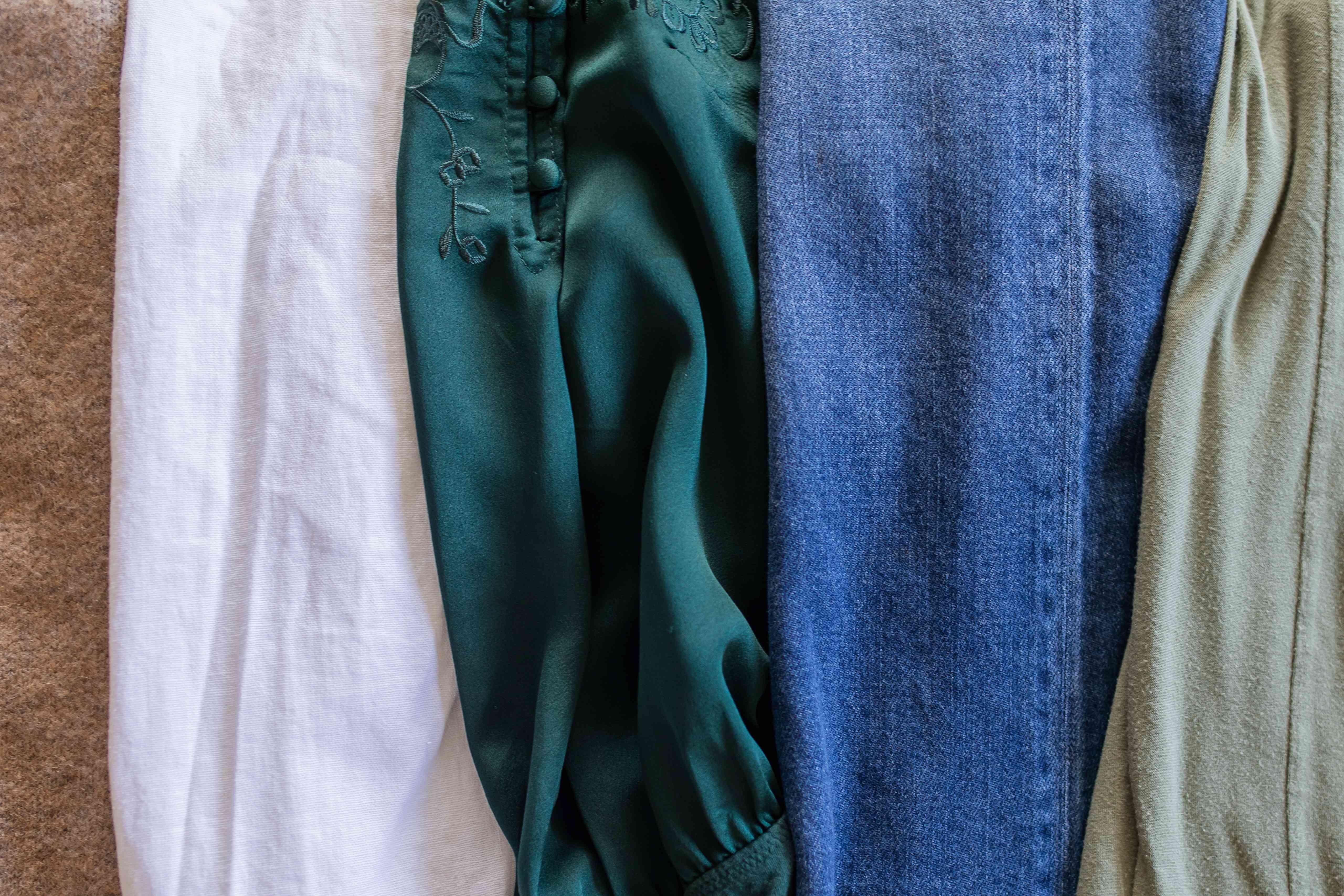 different types of fabrics