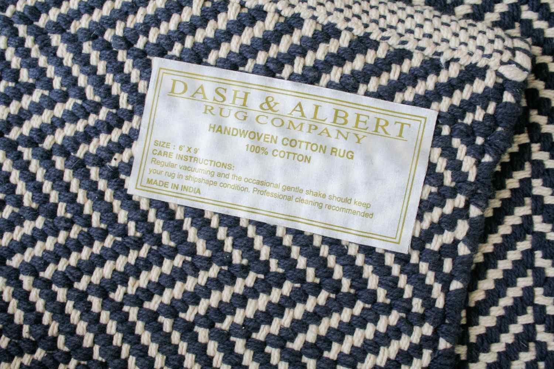 Dash and Albert Herringbone Hand Woven